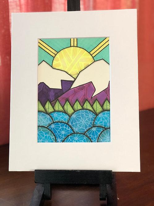 Mountain 13 Original Art