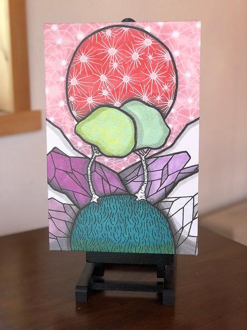 """Birch Love Wild Scoops 8x12"""" Canvas Print"""