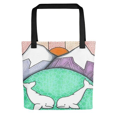 Beluga Love Tote bag