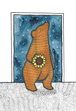 Sunflower Bear 3