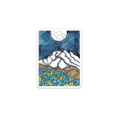 Denali Night Sticker
