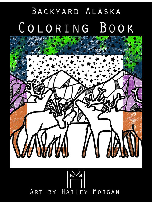Backyard Alaska Coloring Book