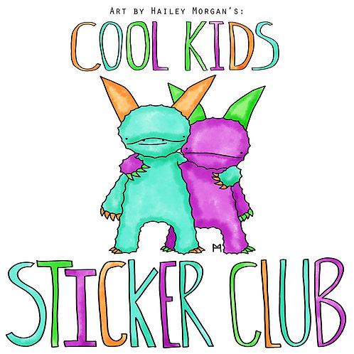 *Cool Kids Sticker Club*