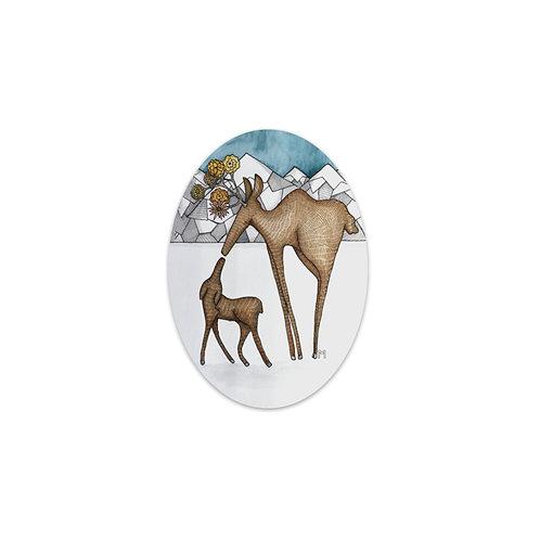 Mama Moose Sticker