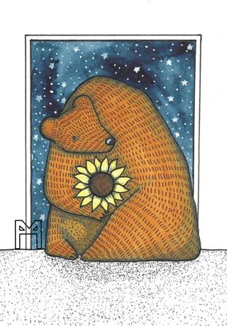Sunflower Bear 2