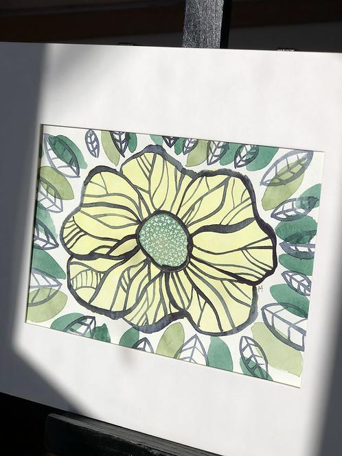Little Flowers 3 Original Art