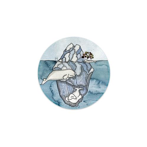 Belugas Sticker