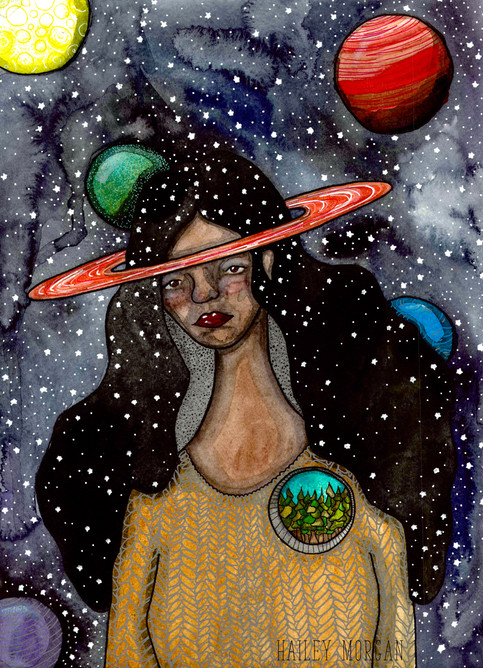 Her Head was in Space but her heart was in the forest