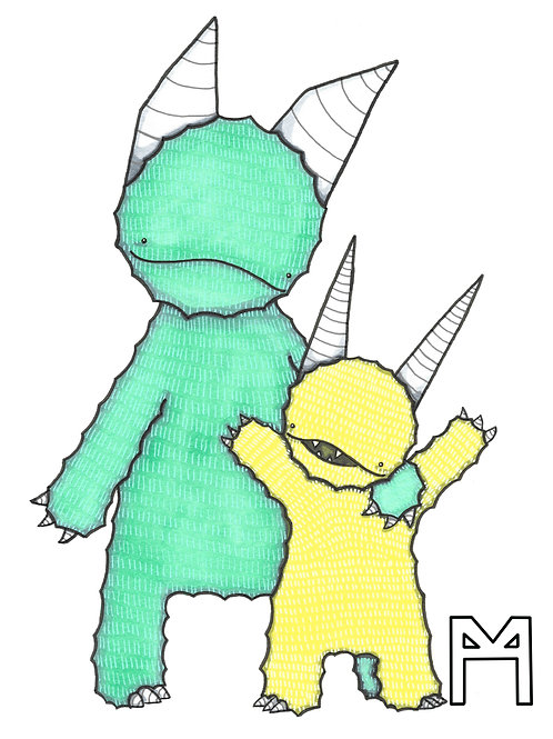 Monster Parent and Kid