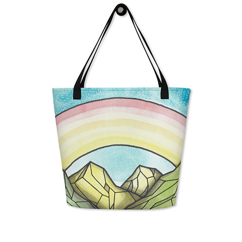 Tote Bag Mountains 23