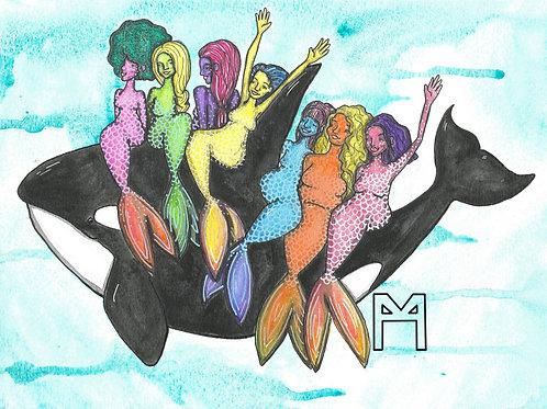 Mermaid Joy Ride