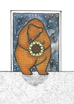 Sunflower Bear 1
