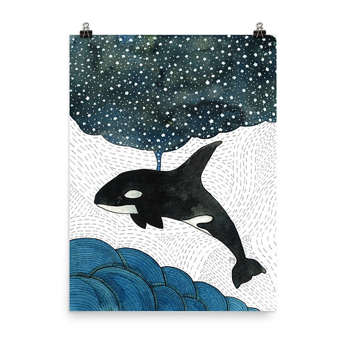 Night of the Orca Poster
