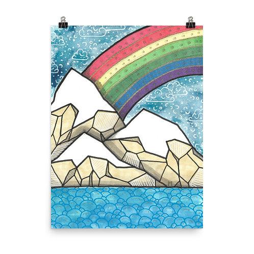 Rainbow Mountains 2 Poster