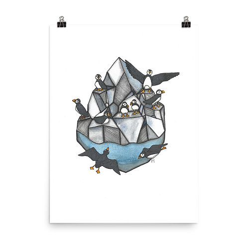 Puffin Rock Poster