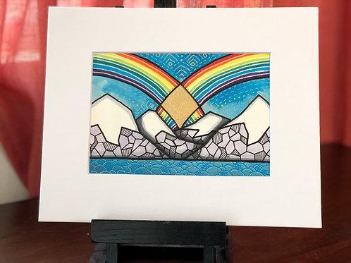 Rainbow Mountain 22 Original Art