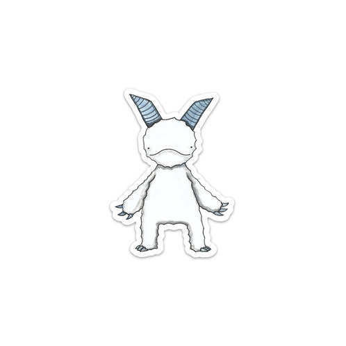 AK Yeti Sticker