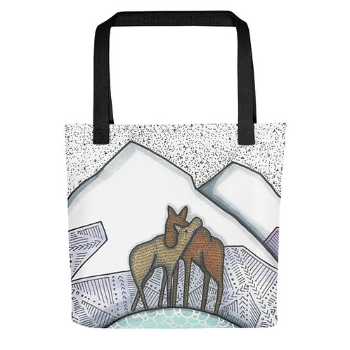 Moose Love Tote bag
