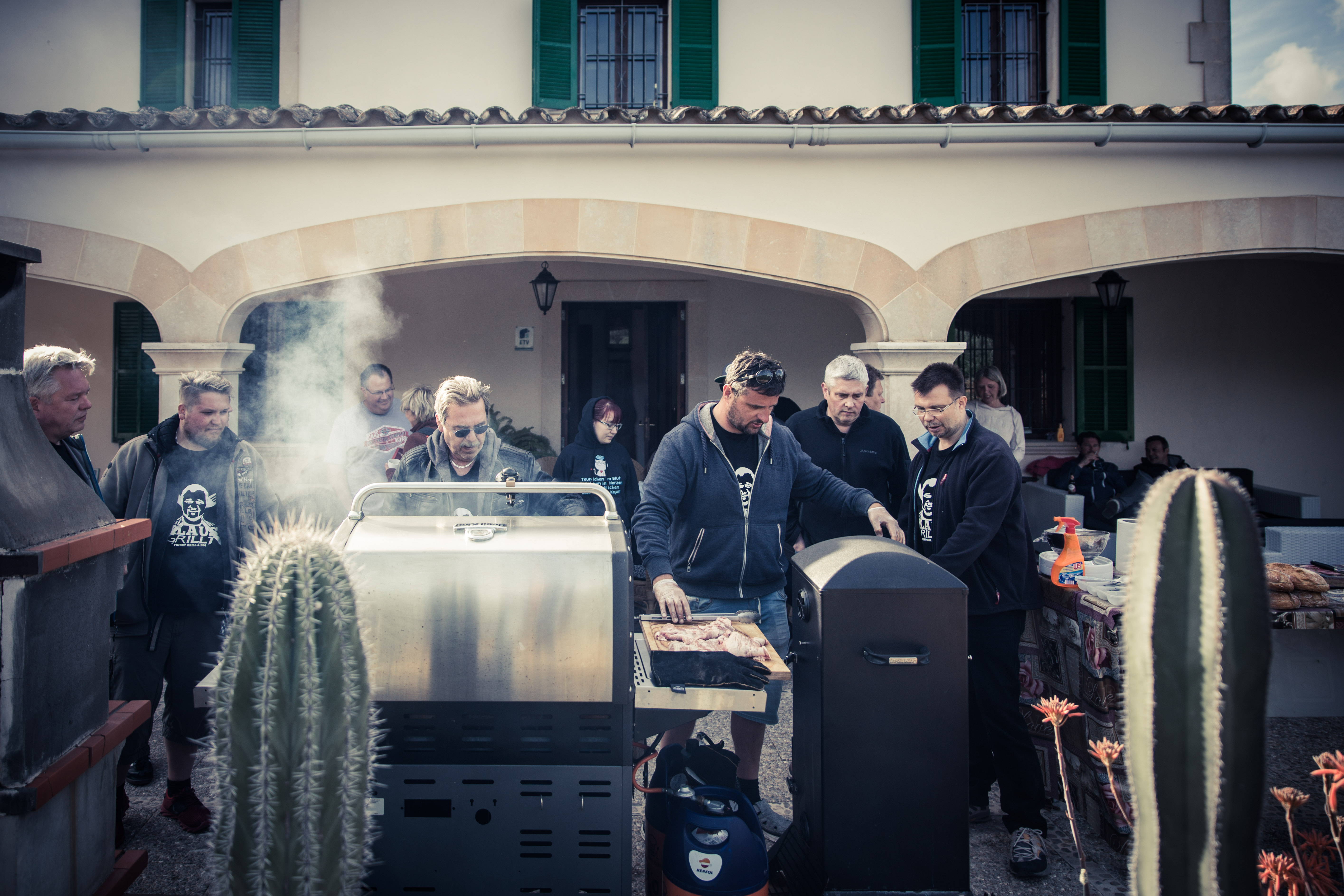 Grillen mit Klaus auf Mallorca