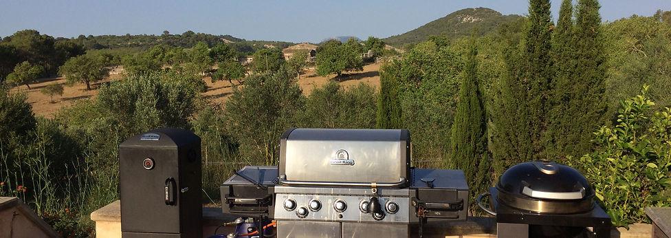 Ausblick von der Grill-Terrasse bei Mallorca BBQ