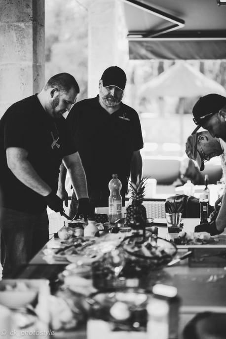 Gespräche ums Thema American Barbecue, Grillen und Smoken
