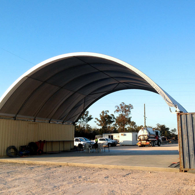 12m x 12m Dome Covers & End Walls