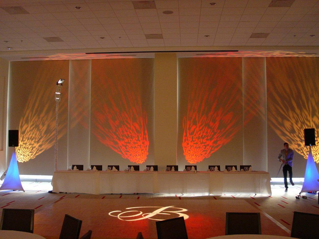 Innovative lighting design wedding and event lighting services