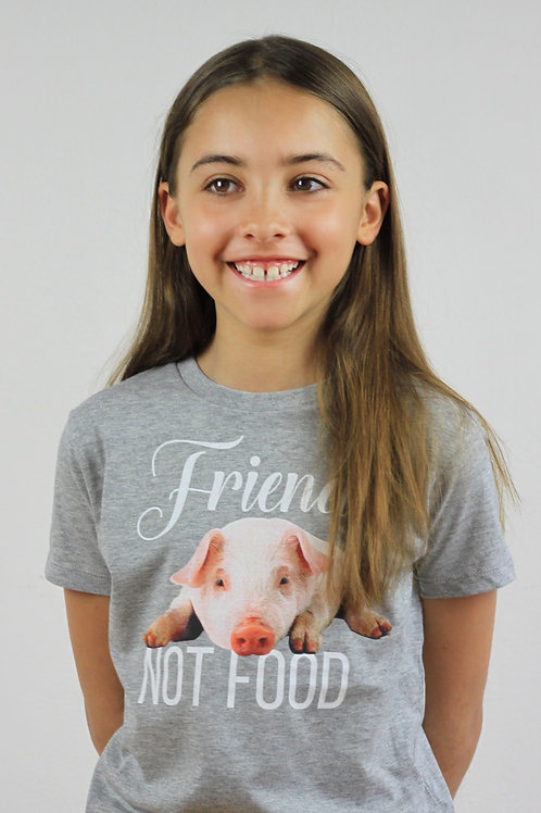Friend NOT food 100% organic cotton