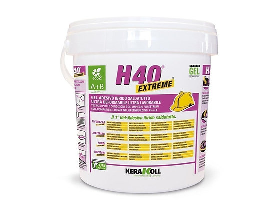 Gel-adesivo ultra deformabile (H40 - Kerakoll)