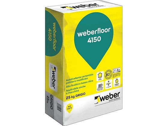 Autolivellante cementizio per interni (weber - Weberfloor 4150)
