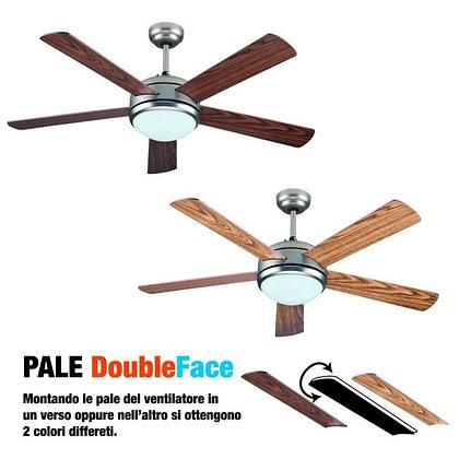 Ventilatore da soffitto double face