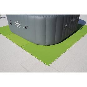 Tappetino verde 81x81cm (4pz)