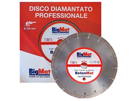 Disco diamantato da taglio a settori (Betonmat 230MM)