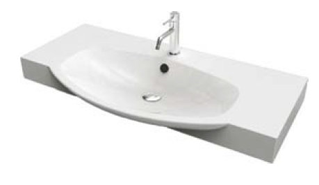 Lavabo cielo easy bath 62x49