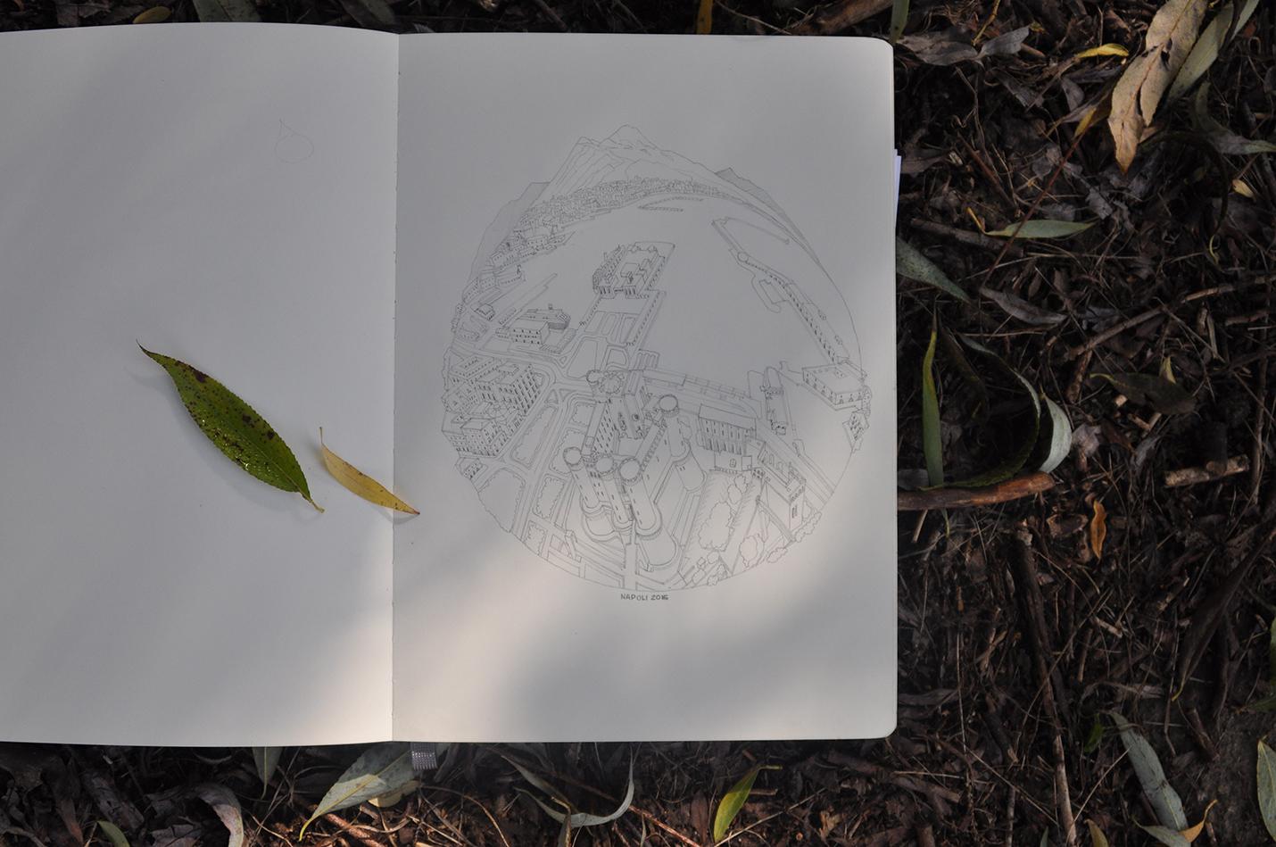 карандашный скетч 6