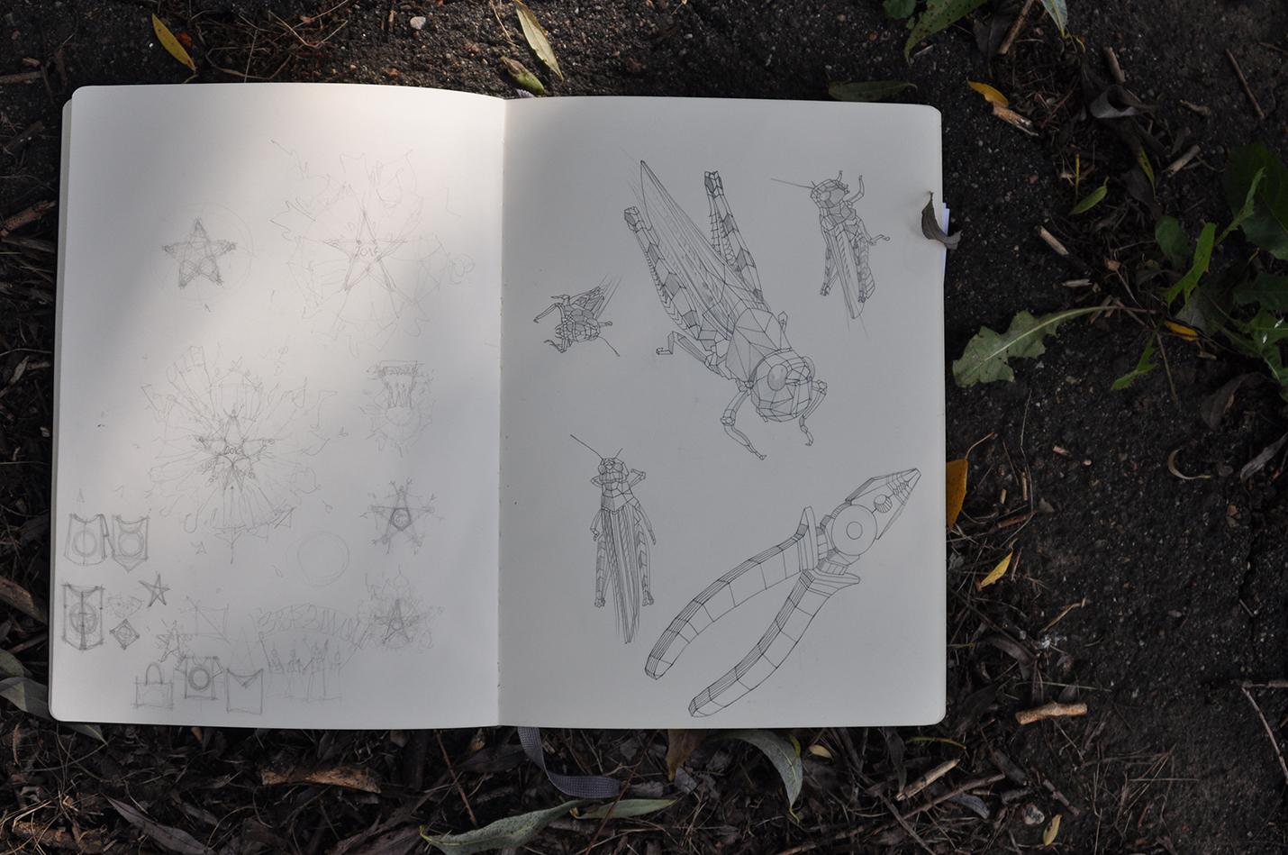 карандашный скетч 7