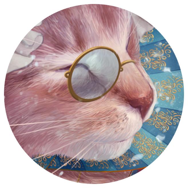 Кошки и талисманы, фрагмент