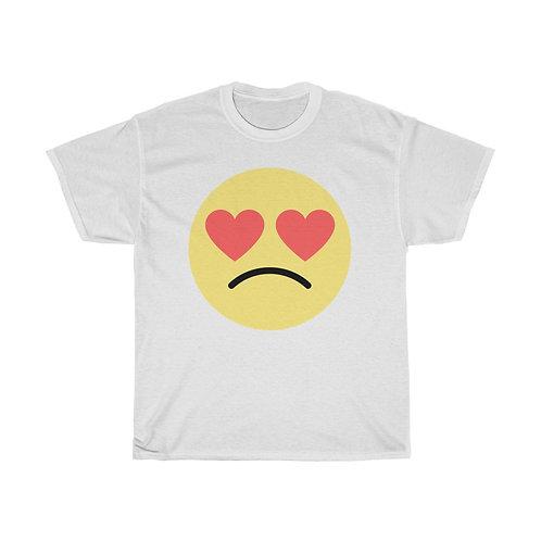 MAL Love Doesn't Hurt Emoji Unisex Heavy Cotton Tee