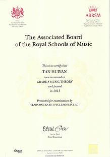 ABRSM Grade 8 Music Theory