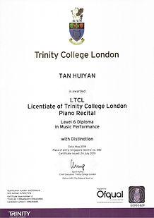 LTCL - Distinction
