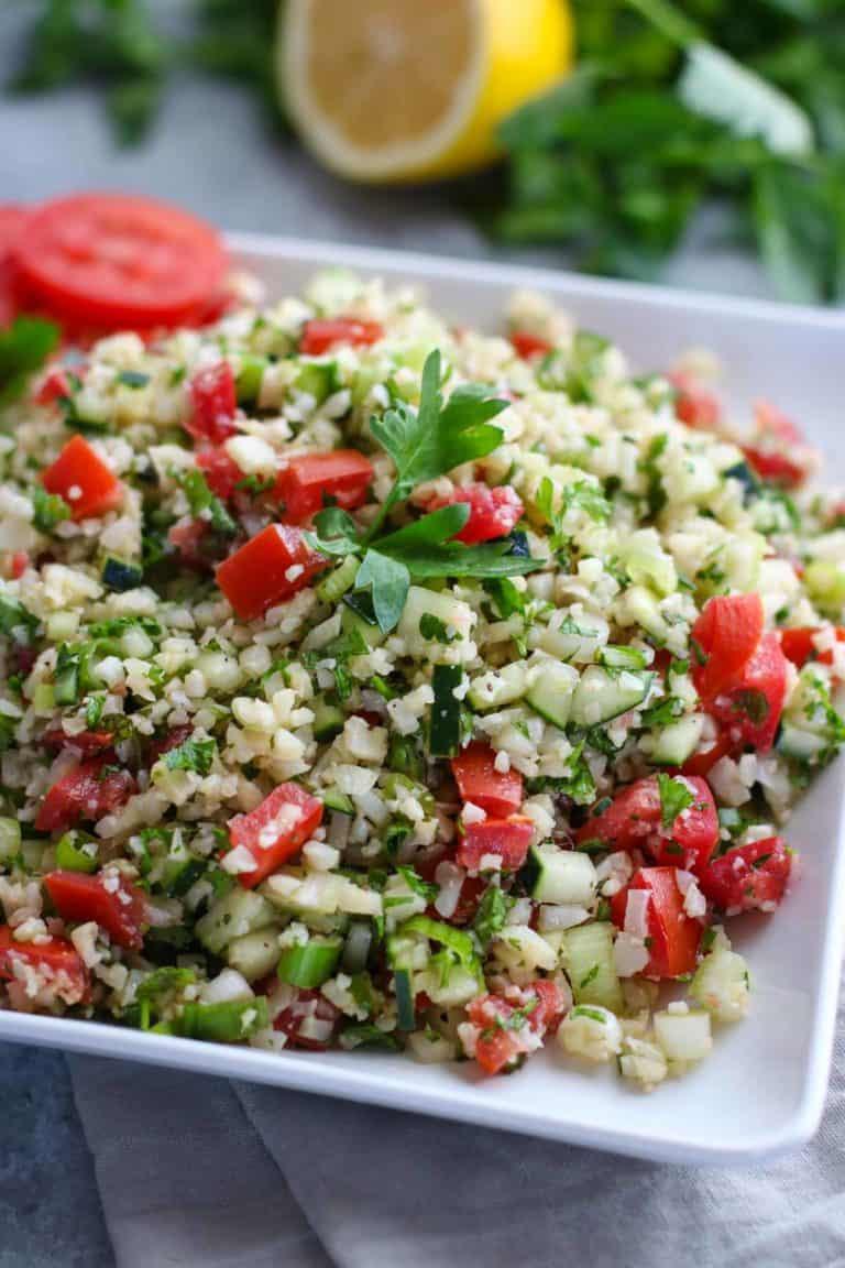 You.Better! Studio Cauliflower tabbouleh salad recipe