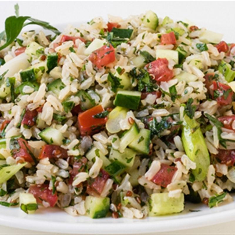 You.Better! Studio Rice tabbouleh salad recipe