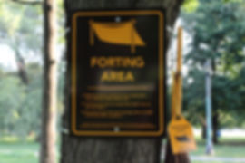 Urban Forting Kit - Intervention, Trinity Bellwoods Park, Toronto ON (2012)