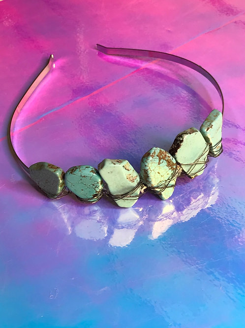 Turquoise Rock Crown