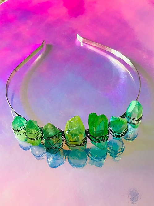 Neon Green Crown