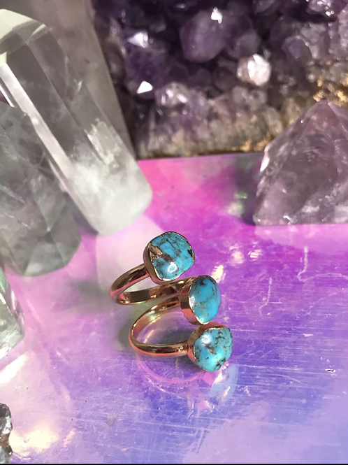 Friendship Turquoise Ring