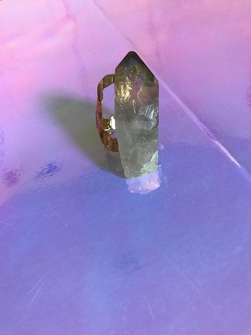 Pure Quartz Ring