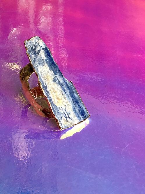 Kyanite Gold Ring