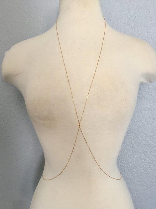 14k Gold Body Chain