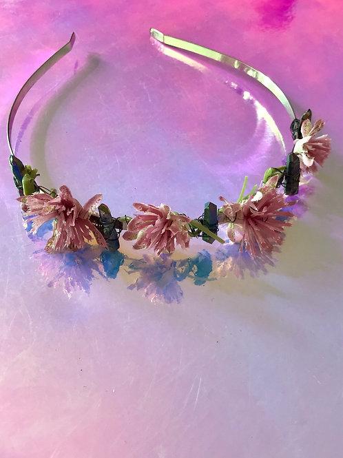 Titanium Quartz Flower Crown